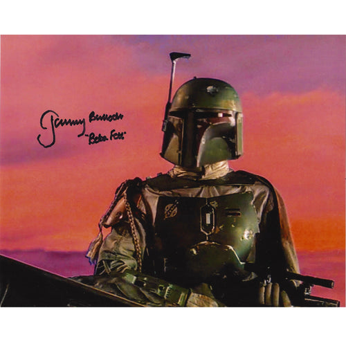 Boba Fett 10x8 Photo signed by Jeremy Bulloch