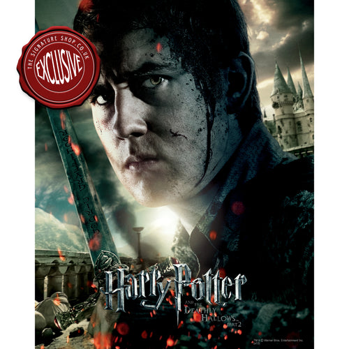 Deathly Hallows Neville 10x8 Photo signed by Matthew Lewis