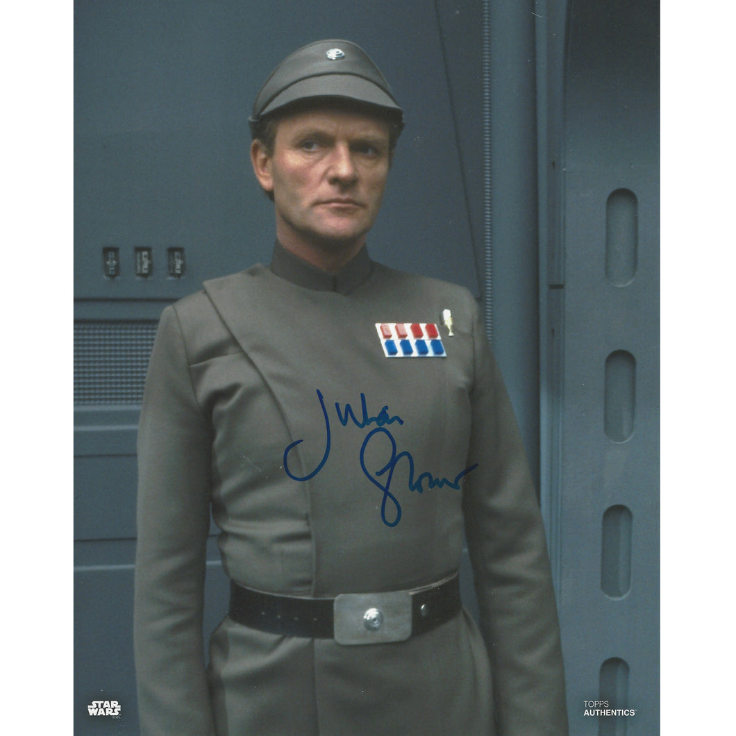 General Veers 10x8 Photo signed by Julian Glover