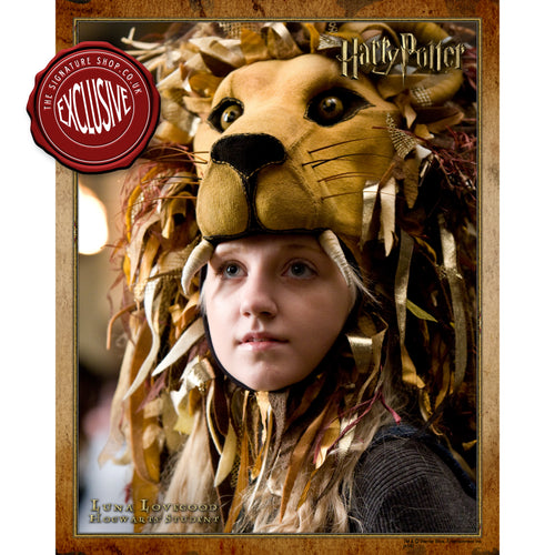 Luna Lovegood 'Lion' 10x8 Photo signed by Evanna Lynch
