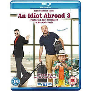 An Idiot Abroad - Series 3 Blu-ray signed by Warwick Davis