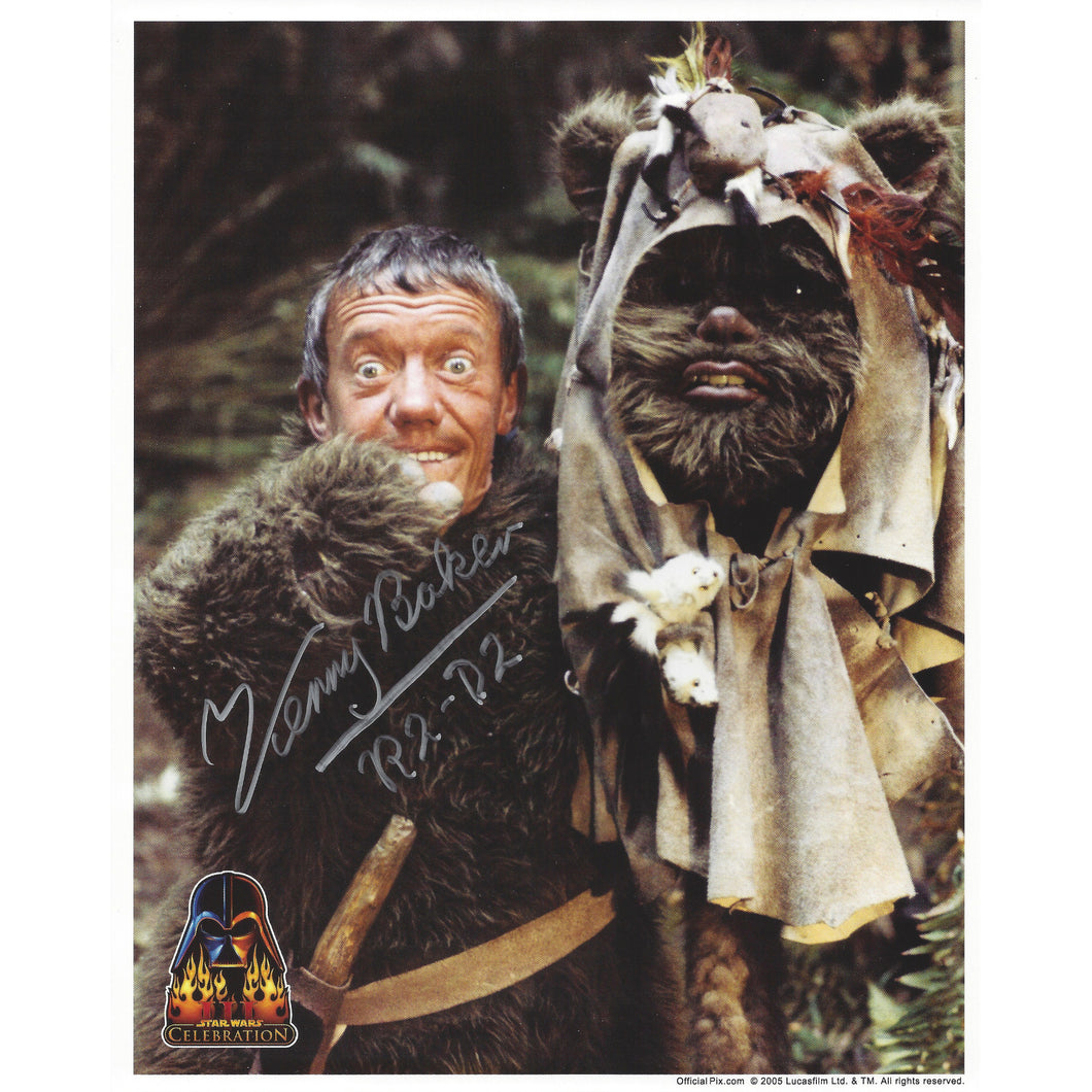 Paploo 10x8 Photo signed by Kenny Baker