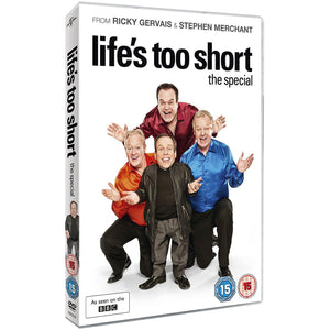 Life's To Short: The Special DVD signed Warwick Davis