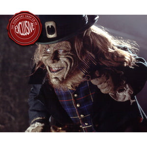 Leprechaun 10x8 Photo signed by Warwick Davis