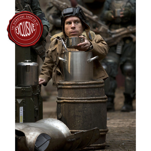 Dr Who Porridge 10x8 Photo signed by Warwick Davis