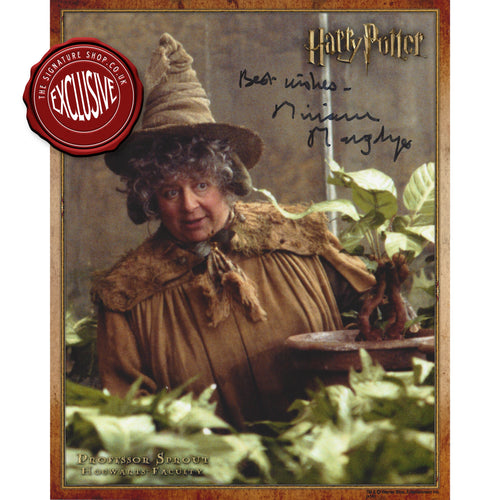 Prof Sprout 10x8 Photo signed by Miriam Margolyes