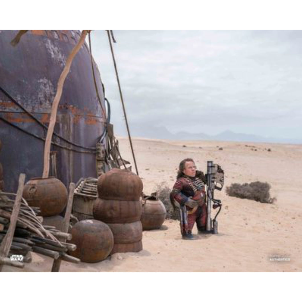 Weazel 10x8 Photo signed by Warwick Davis