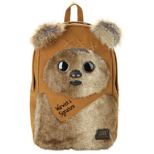 Wicket the Ewok Backpack signed by Warwick Davis