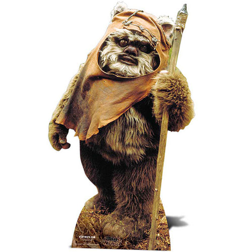 Wicket the Ewok Cut-Out signed by Warwick Davis