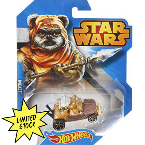 Hot Wheels Wicket signed by Warwick Davis