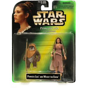 Princess Leia & Wicket signed by Warwick Davis