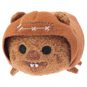 Wicket the Ewok Tsum Tsum signed by Warwick Davis