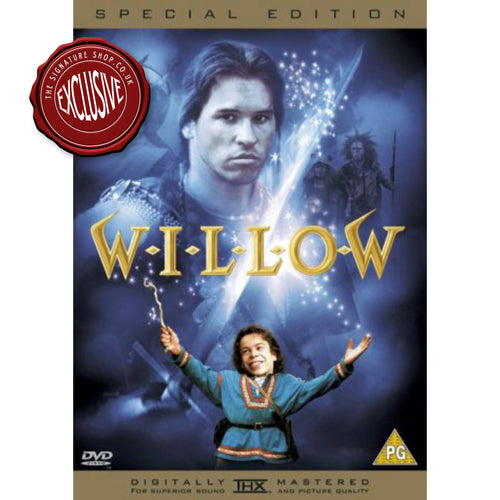 Willow Special Edition DVD signed by Warwick Davis