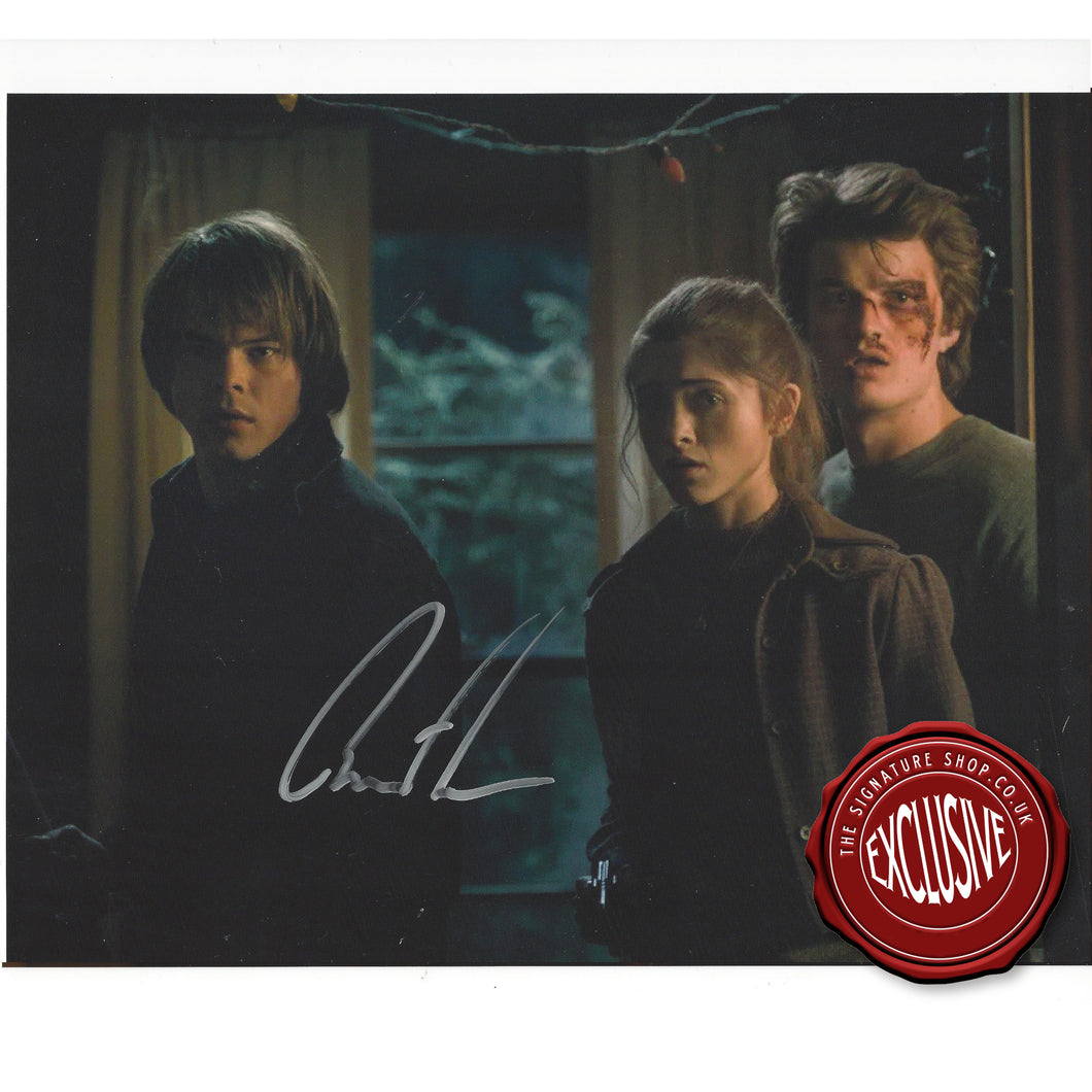 Stranger Things Jonathan Byers 8X10 Signed By Charlie Heaton