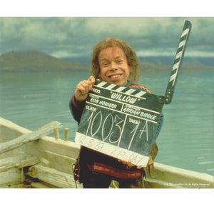 Willow Clapperboard Photo Signed by Warwick Davis