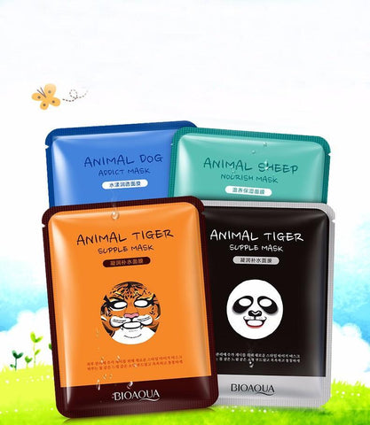 Animal Facial Mask Gift Set - Daily Kreative - Kreative products for beauty and healthy living