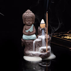 Buddha Monk Incense Burner - Daily Kreative - Kreative products for beauty and healthy living