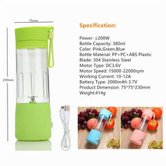 The Portable Smoothie On-The-Go Maker