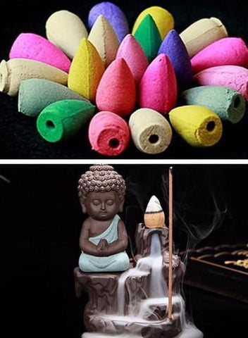 Buddha Monk Incense Burner - Daily Kreative - Kreative products for home essentials