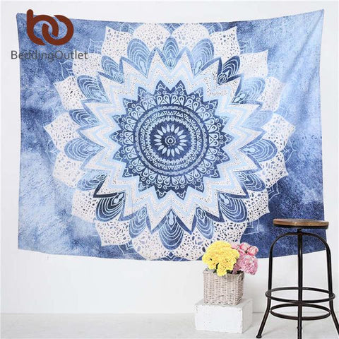 The Elephant Mandala Tapestry Decor - Daily Kreative - Kreative products for beauty and healthy living