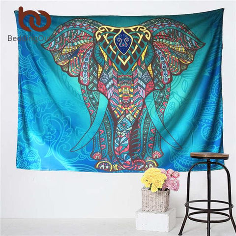 Elephant Mandala Tapestry - Daily Kreative - Kreative products for beauty and healthy living