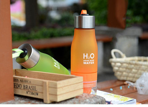 The H²O Fruit Infusion Water Bottle - Daily Kreative - Kreative products for home essentials