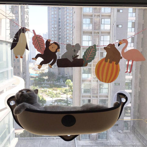 The Cat's Favorite Window Bed-Hammock - Daily Kreative - Kreative products for home essentials