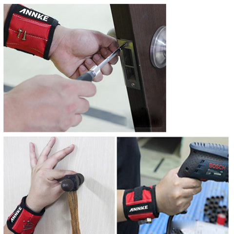 Magnetic Tool Wristband - Daily Kreative - Kreative products for beauty and healthy living
