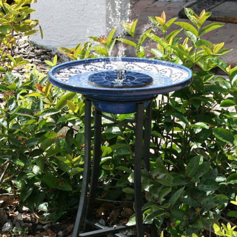 Solar Powered Bird Fountain - Daily Kreative - Kreative products for beauty and healthy living