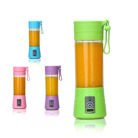 Portable Juicer Bottle Personal Blender USB Charger Fruit Mixing Machine - Daily Kreative - Kreative products for beauty and healthy living