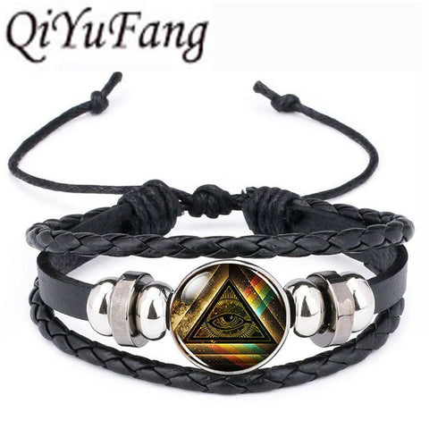 Leather Bracelet Multilayers Charm - Daily Kreative - Kreative products for beauty and healthy living