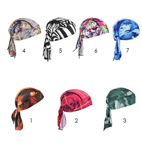 2018 Outdoor Cycling Cap Head Scarf Quick Dry Bandana Pirate Hat Hood Headband MTB Biking Equipment Bike Men Riding Ciclismo - Daily Kreative - Kreative products for beauty and healthy living