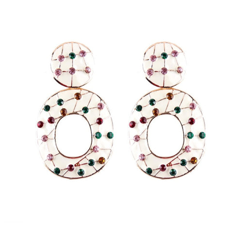 Vintage Multicolored Earrings - Daily Kreative - Kreative products for beauty and healthy living