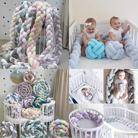 Newborn Baby Bed Bumper - Daily Kreative - Kreative products for beauty and healthy living