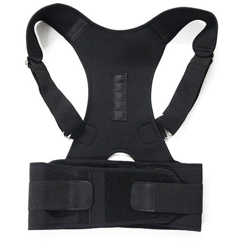 New Magnetic Posture Corrector Neoprene Back Corset Brace Straightener Shoulder Back Belt Spine Support Belt - Daily Kreative - Kreative products for beauty and healthy living