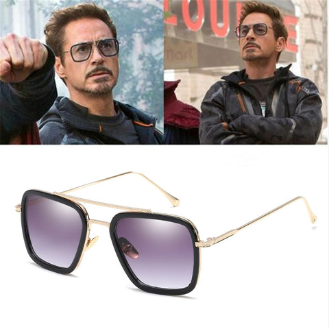 Avengers Tony Stark Sunglasses - Daily Kreative - Kreative products for beauty and healthy living