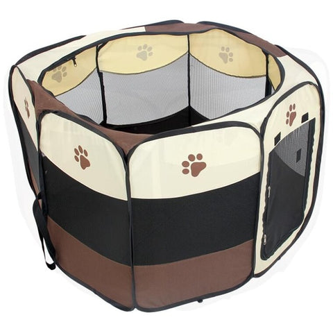 Portable Folding Pet Carrier Tent Dog House - Daily Kreative - Kreative products for beauty and healthy living