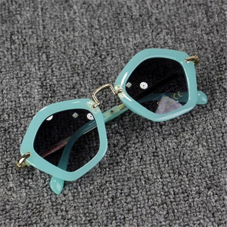 Trendy Polygon Children Boys Girls Sun Glasses - Daily Kreative - Kreative products for beauty and healthy living