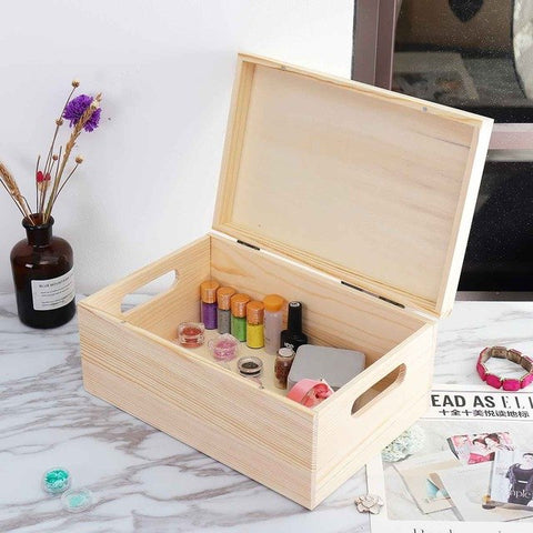 Essential Oil Wooden Storage - Daily Kreative - Kreative products for beauty and healthy living