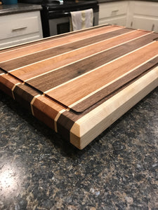 "10""x14"" Edge Grain Cutting Board"