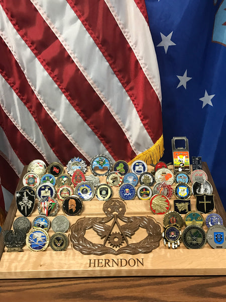 75 Coin - Elite Challenge Coin Display
