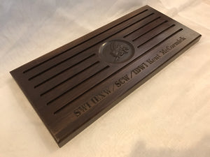"18""x8"" 50 Coin- Basic Challenge Coin holder"