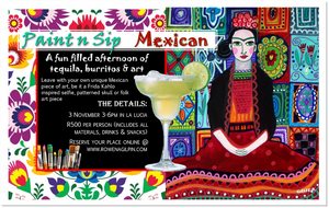 Paint n Sip - Mexican Edition