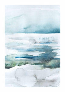Watercolour Lake