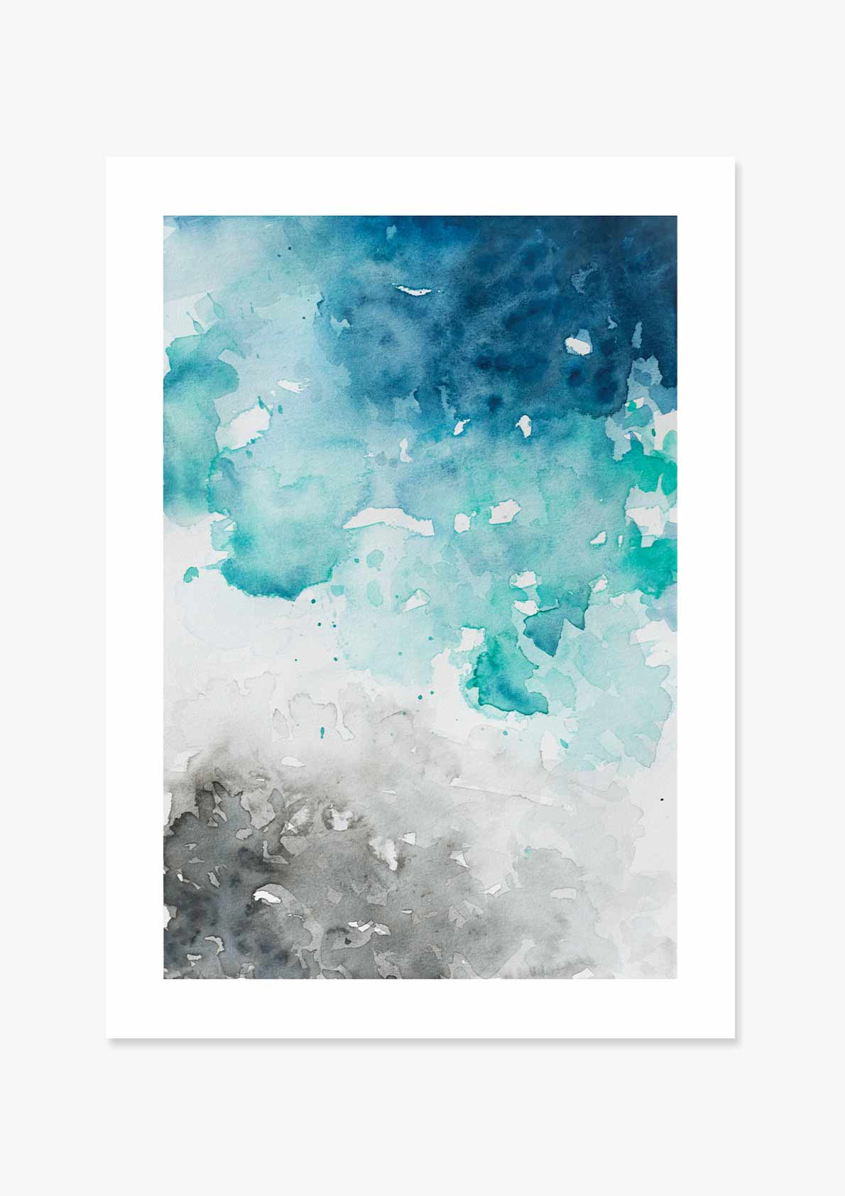 Watercolour Ocean