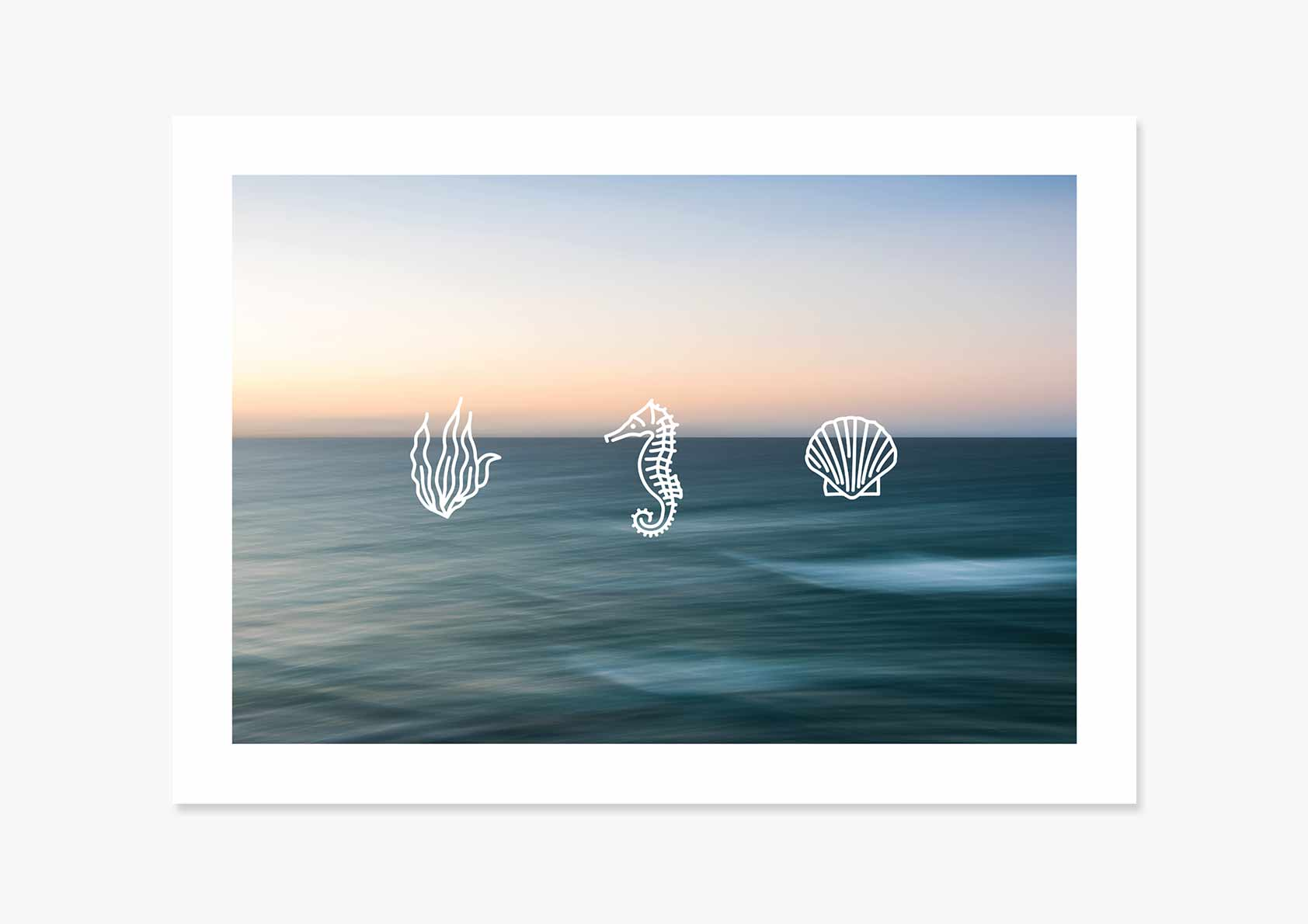Ocean Quote - Icons II