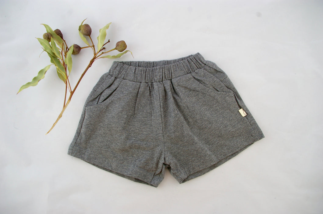 Grey Shorty Shorts