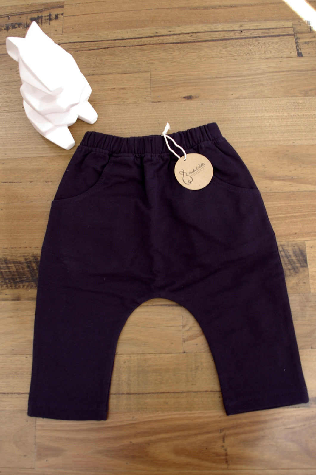Navy Blue Slouch Pant