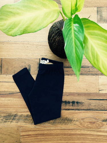 Summer Navy Leggings