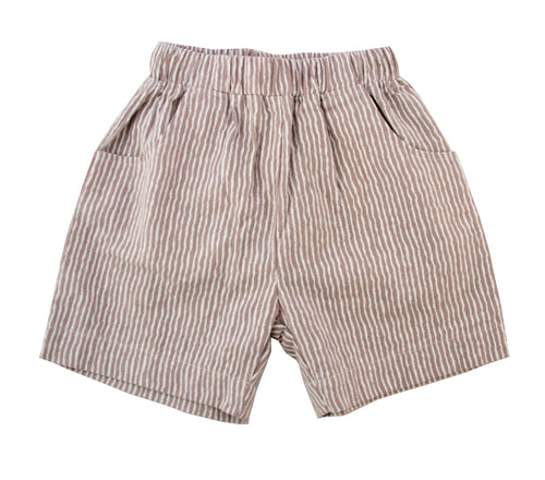 Brown stripped shorts